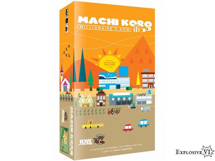 Machi Koro Millionaires Row Expansion