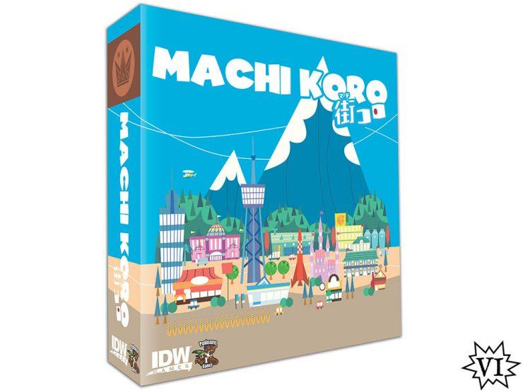 Machi Koro box cover