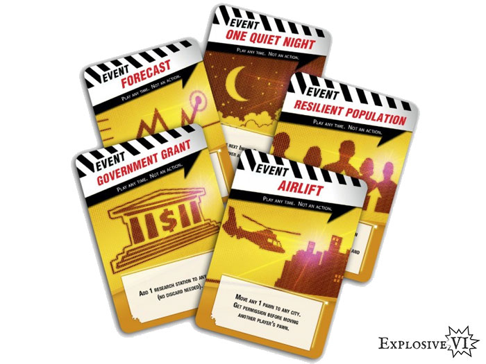Pandemic Event Cards