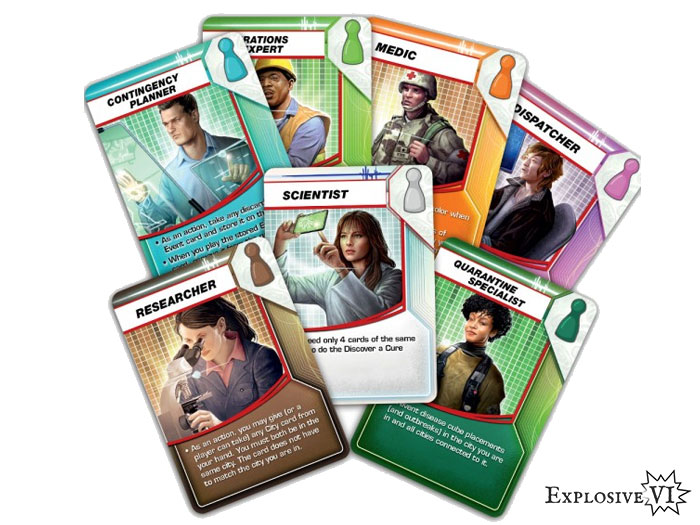 Pandemic Role Cards