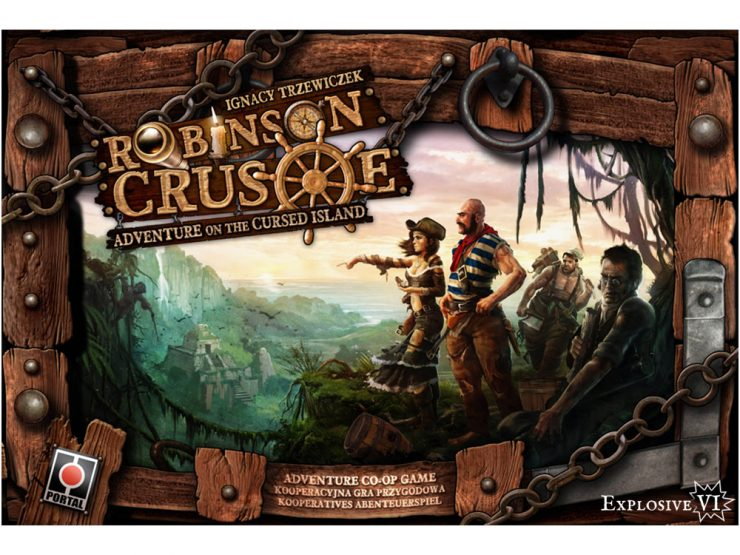 Robinson Crusoe Box Cover
