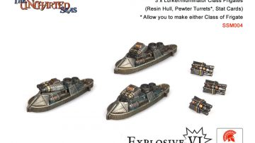Shroud Mages Lurker / Illuminator Class Frigates