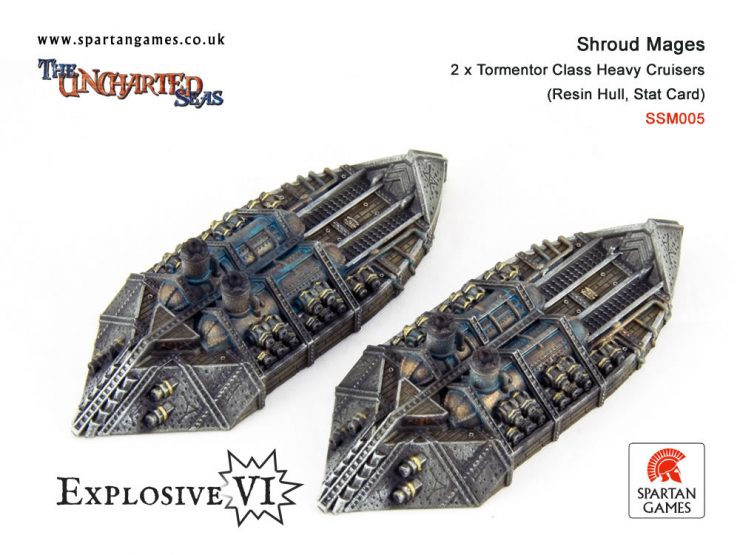Shroud Mages Tormentor Class Heavy Cruiser
