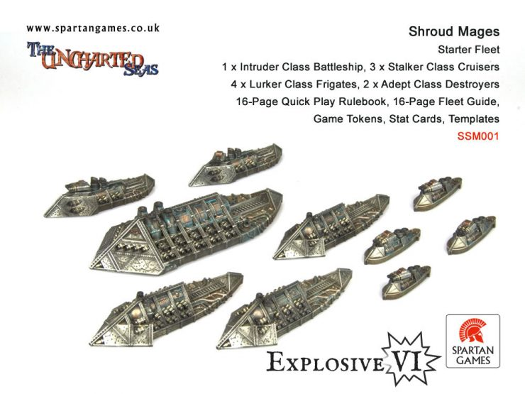 Shroud Mages Starter Fleet