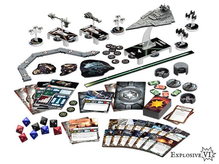 Star Wars Armada contents