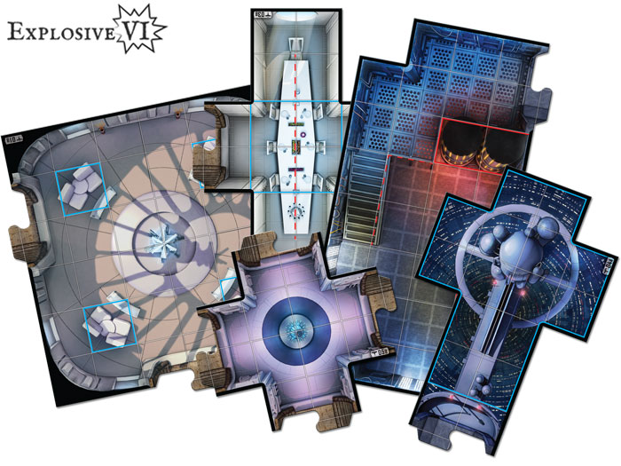 Star Wars Imperial Assault Bespin Gambit Map Tiles