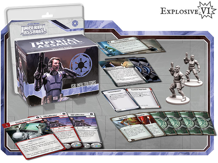 Star Wars Imperial Assault ISB Infiltrators Villain Pack Expansion