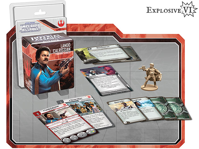Star Wars Imperial Assault Lando Calrissian Ally Pack Expansion