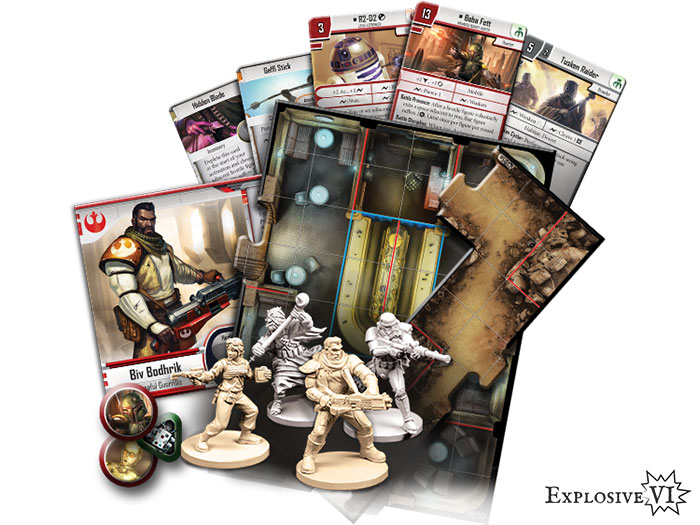 Star Wars Imperial Assault Twin-Shadows Content