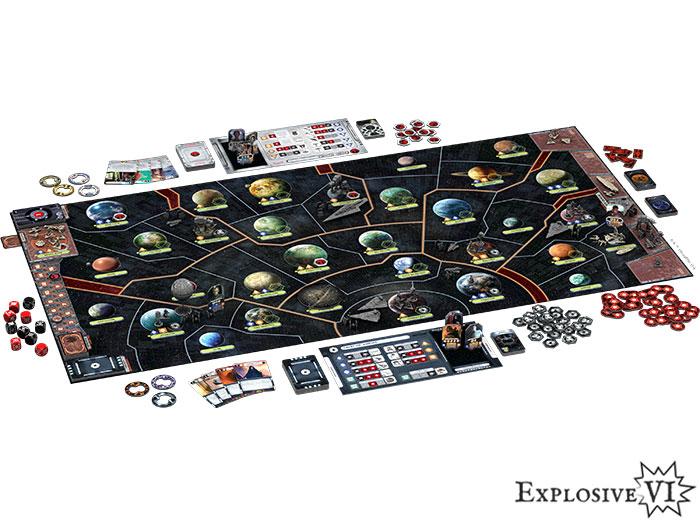Star Wars Rebellion Board