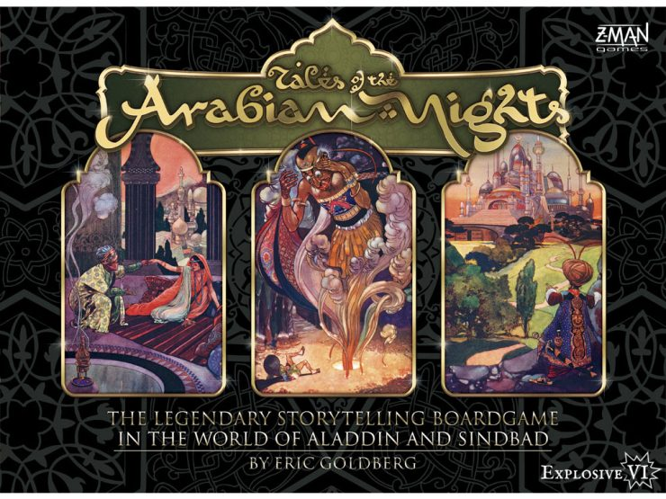 Tales of the Arabian Nights Box Cover