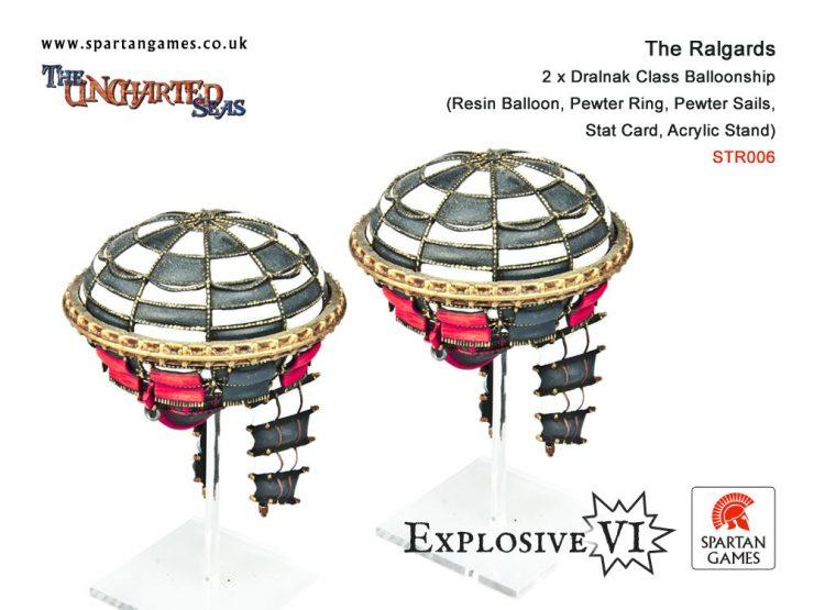 The Ralgard Dralnak Class Balloonship
