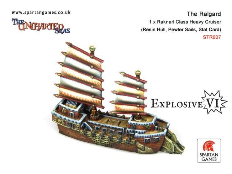 The Ralgard Raknarl Class Heavy Cruiser