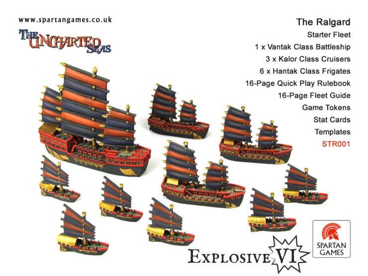 The Ralgard Starter Fleet
