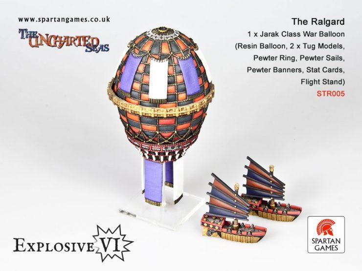 The Ralgard Jarak Class War Balloon