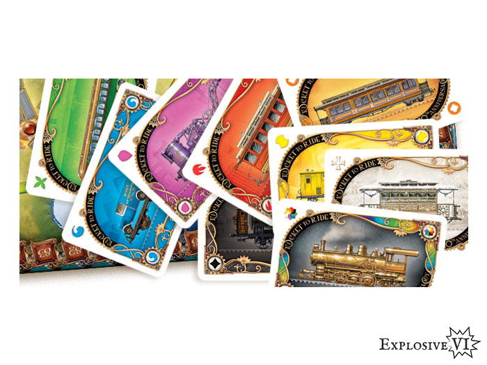 Ticket To Ride 10th Anniversary Cards