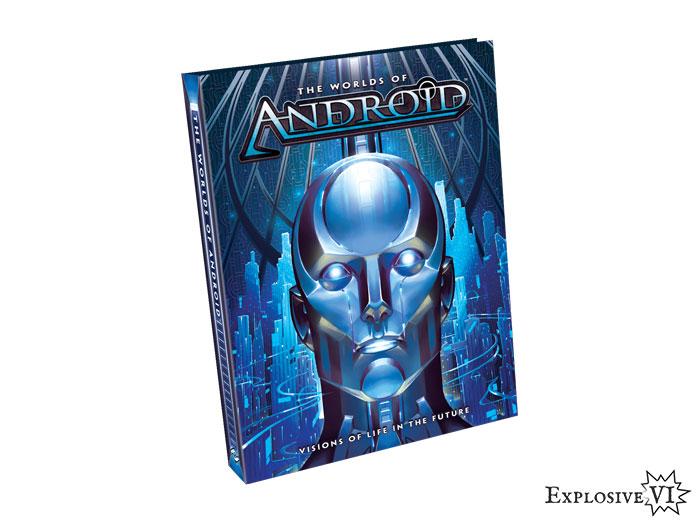 Worlds of Android Netrunner Premium Hardback Art Book